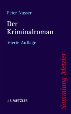 Der Kriminalroman - Nusser, Peter