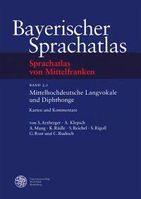 Sprachatlas von Mittelfranken (SMF) / Mittelhochdeutsche Langvokale und Diphtonge