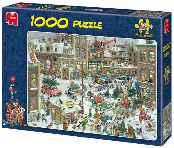 jumbo 13007 jan van haasteren weihnachten bei b cher. Black Bedroom Furniture Sets. Home Design Ideas