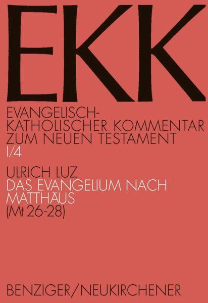 Evangelisch-kath. Kommentar zum NT / Matthäus 1 - Luz, Ulrich