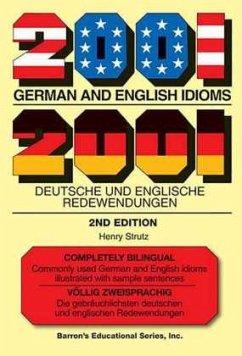 2001 German and English Idioms