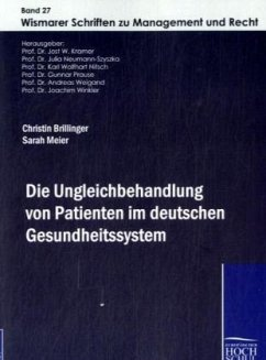 Die Ungleichbehandlung von Patienten im deuteschen Gesundheitssystem