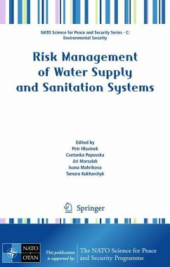 Risk Management of Water Supply and Sanitation Systems - Hlavinek, Petr / Popovska, Cvetanka / Marsalek, Jiri / Mahrikova, Ivana / Kukharchyk, Tamara (ed.)