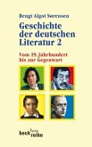 Geschichte der deutschen Literatur 2: Vom 19. Jahrhundert bis zur Gegenwart