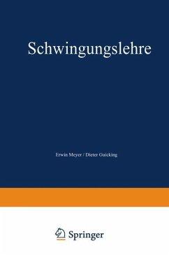 Schwingungslehre - Meyer, Erwin