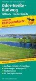 PUBLICPRESS Leporello Radtourenkarte Oder-Neiße-Radweg, Jablonec - Ueckermünde
