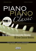 Piano Piano Classic, leicht arrangiert, m. 2 Audio-CDs