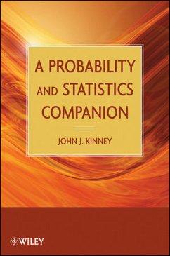 A Probability and Statistics Companion - Kinney, John J.
