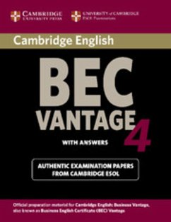 Cambridge BEC. Student's Book with answers.Vantage 4