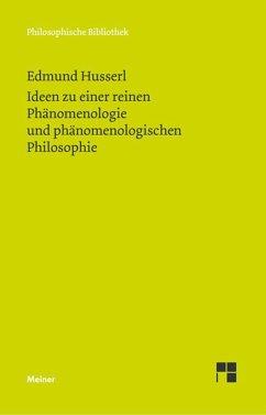 Ideen zu einer reinen Phänomenologie und phänomenologishen Philosophie - Husserl, Edmund