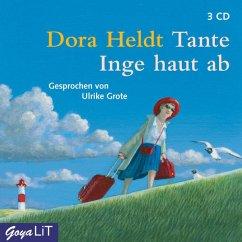 Tante Inge haut ab, 3 Audio-CDs - Heldt, Dora