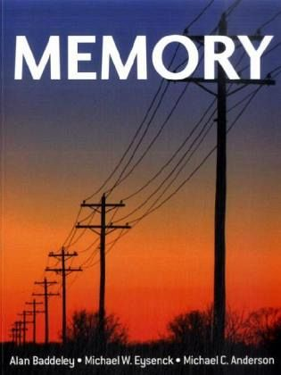 memory baddeley eysenck anderson pdf download