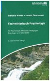 Fachwörterbuch Psychologie
