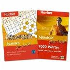 Spanisch ganz leicht, 1.000 Wörter & Rätselspaß, 2 Audio-CDs + Rätselblock