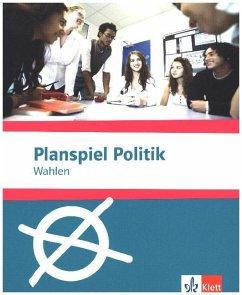 Planspiel Politik: Wahlen, Spiel mit CD-ROM