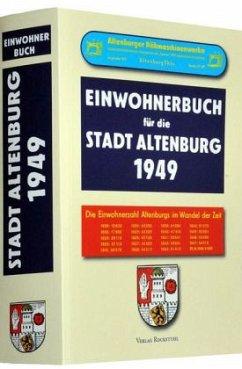 Einwohnerbuch der Stadt Altenburg 1949