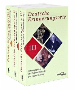 Deutsche Erinnerungsorte. 3 Bände - Francois, Etienne / Schulze, Hagen (Hrsg.)