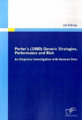 generic strategies in strategic management pdf