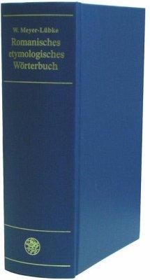 Romanisches etymologisches Wörterbuch - Meyer-Lübke, Wilhelm