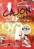 Martin Röttger's Cajon Schule, m. Audio-CD u. DVD