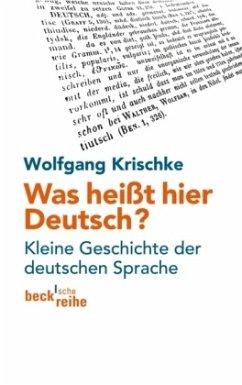 was hei t hier deutsch von wolfgang krischke als taschenbuch portofrei bei b. Black Bedroom Furniture Sets. Home Design Ideas