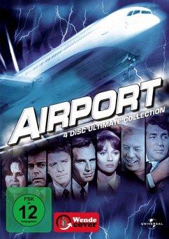 Airport, Airport 1975 - Giganten am Himmel, Airport 1977 - Verschollen im Bermuda-Dreieck, Airport 80 - Die Concorde DVD-Box - Burt Lancaster,Dean Martin,Charlton Heston