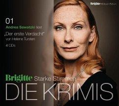 Der erste Verdacht / Kriminalinspektorin Irene Huss Bd.5 (4 Audio-CDs) - Tursten, Helene