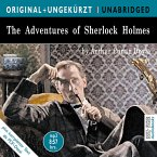 The Adventures of Sherlock Holmes, 1 MP3-CD\Die Abenteuer des Sherlock Holmes, 1 MP3-CD, englische Version