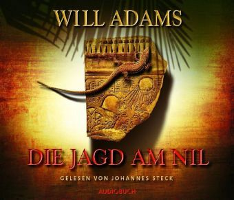 Die Jagd am Nil, 6 Audio-CDs - Adams, Will