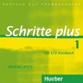 2 Audio-CDs zum Kursbuch / Schritte plus - Deutsch als Fremdsprache Bd.1