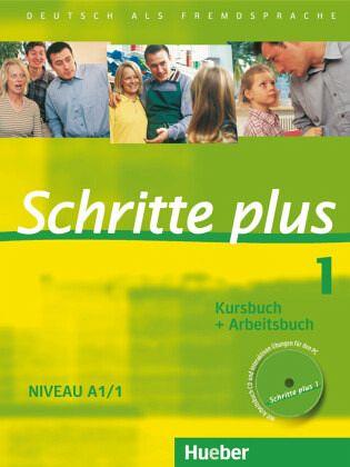 Schritte plus 1 Niveau A1/1. Kursbuch + Arbeitsbuch mit Audio-CD zum Arbeitsbuch Bd.1 - Niebisch, Daniela; Penning-Hiemstra, Sylvette; Specht, Franz; Bovermann, Monika