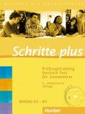 Schritte plus. Prüfungstraining Deutsch-Test für Zuwanderer