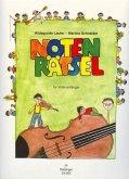 Notenrätsel für Violinanfänger