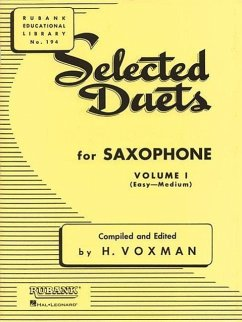 Selected Duets for Saxophone, Volume I: (Easy-Medium)