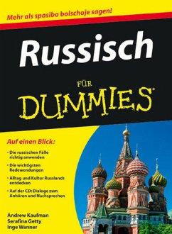 Russisch für Dummies - Kaufman, Andrew; Gettys, Serafima; Wanner, Inge