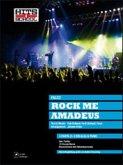Rock Me Amadeus, für 3-stimmigen Chor und Klavier, Partitur, 10 Chorpartituren und Klavierstimme