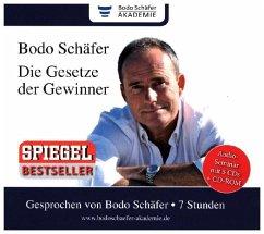 Die Gesetze der Gewinner, 5 Audio-CDs + 1 CD-ROM - Schäfer, Bodo