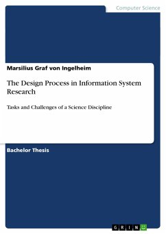 The Design Process in Information System Research