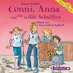 Conni, Anna und das wilde Schulfest / Conni & Co Bd.4 (2 Audio-CDs) - Hoßfeld, Dagmar