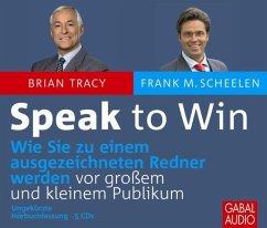 Speak to Win, 5 Audio-CDs