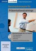 Seminarkonzepte für Präsentationstrainings, 1 CD-ROM