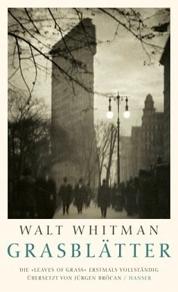 "Walt Whitman ""Grasblätter"""