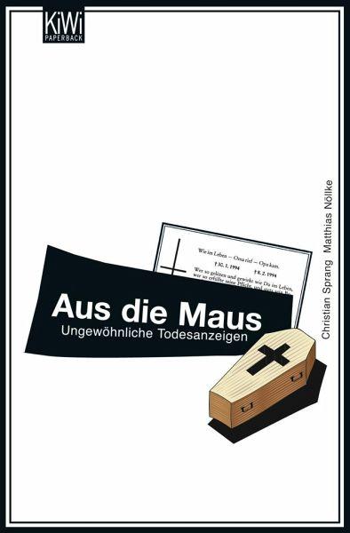 Aus die Maus - Sprang, Christian; Nöllke, Matthias