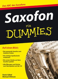 Saxofon für Dummies, m. Audio-CD