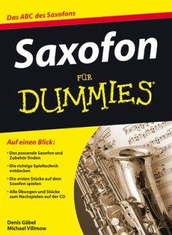 Saxofon für Dummies, m. Audio-CD