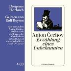 Erzählung eines Unbekannten, 4 Audio-CDs