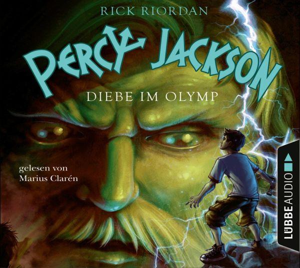 Diebe im Olymp / Percy Jackson Bd.1 (4 Audio-CDs) - Riordan, Rick