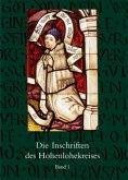 Die Inschriften des Hohenlohekreises, 2 Bde.
