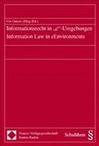 Informationsrecht in 'e'-Umgebungen