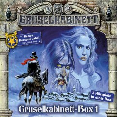 Gruselkabinett-Box 1, 3 Audio-CDs
